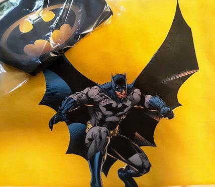 Kids Batman T-Shirt & Face Mask set