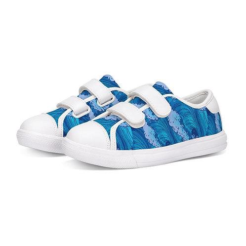 Find Your Coast Kids Tidal Wave Velcro Shoes
