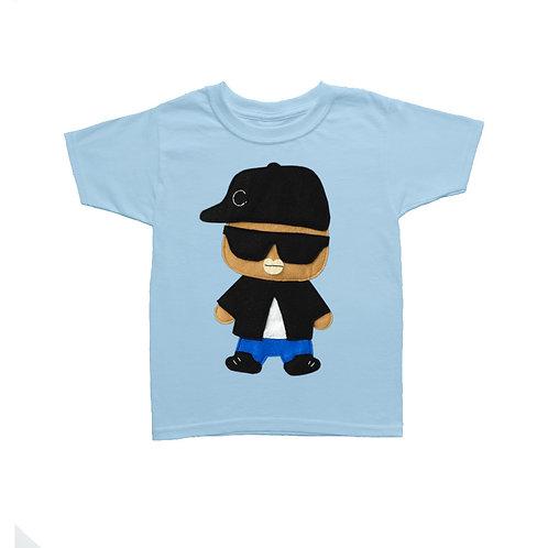 Kids T-Shirt - Rad Rapper - Big Sunglasses