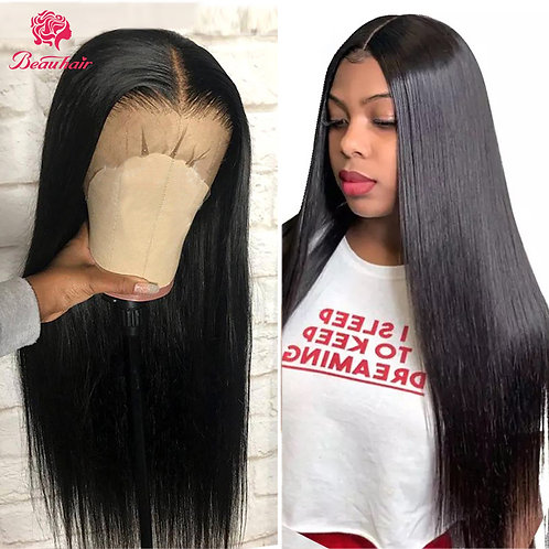 360 Lace Frontal Wig Brazilian Human Hair Glueless