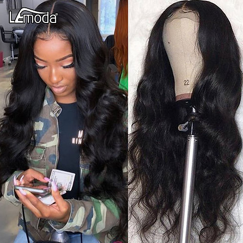 30inch Body Wave 360 Lace Frontal Wig Pre Plucked