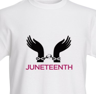 Broken Chain Juneteenth T-Shirt