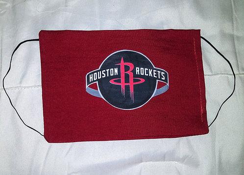 Houston Rockets Face Mask