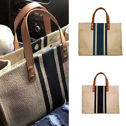 Linen Shoulder Bag