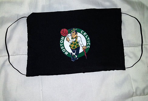 Boston Celtics Face Mask