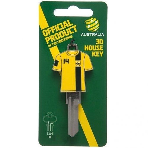 Socceroos Licensed Guernsey House Key