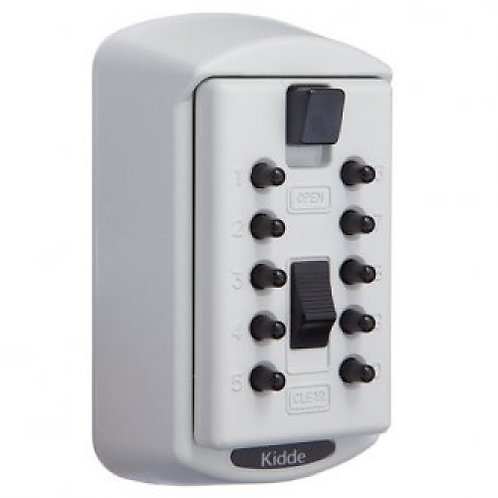 Kidde 2 Key S6 Wallmount Keysafe-White (SU1370)