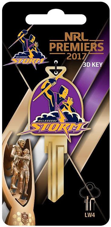 Melbourne Storm NRL House Key