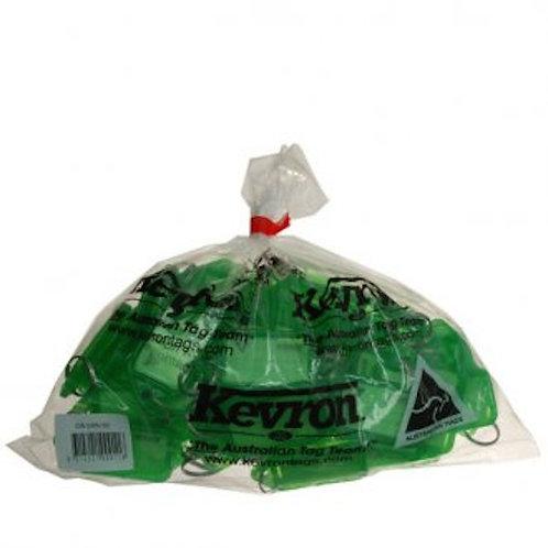 Kevron ID5 Green Key Tags KID5GRN
