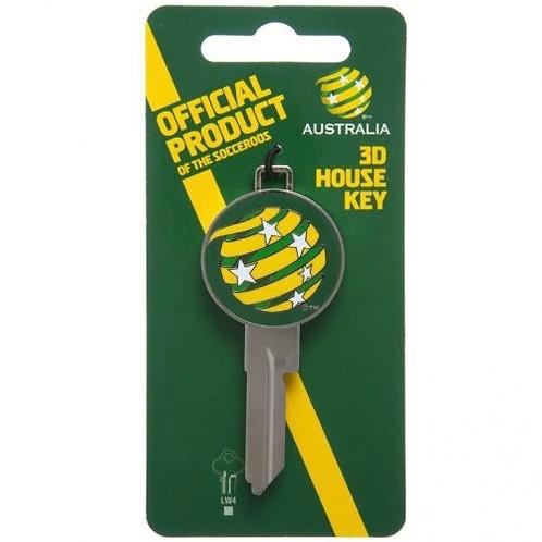 Socceroos Licensed House Key
