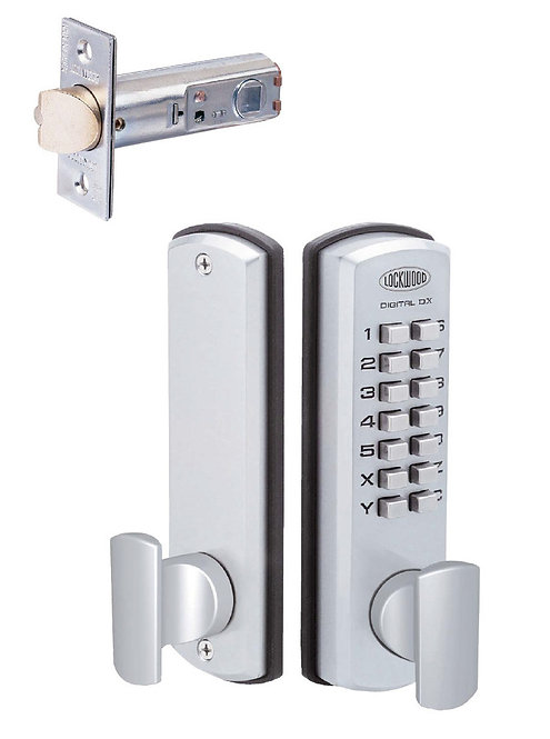 Lockwood 530DXSC Digital Entrance Set
