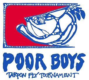 Poor Boys Tarpon Tournamnet Logo no date