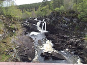rogie falls on ullapool tour also corrieshalloch gorge, glen ord distillery highlands