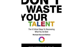 Celebrating 10 Years in Print for 'Don't Waste Your Talent'