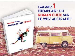 Jouez pour gagner un exemplaire du roman Australian Touch !