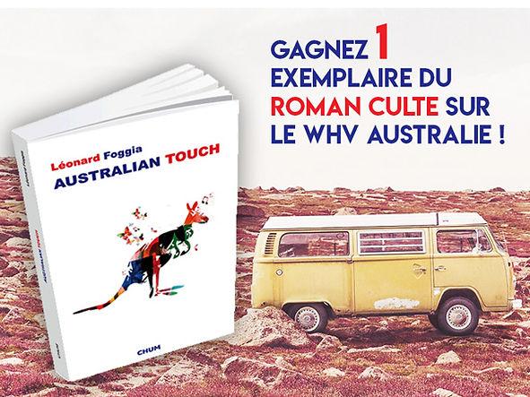 Livre sur l'Australie, roman Australie