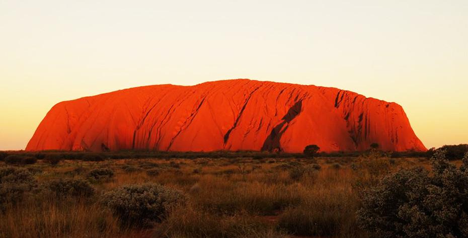 Uluru en Australie, Ayers Rock Territoire du nord