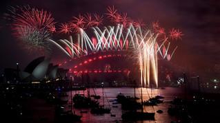 Nouvel an à Sydney : vidéo du feu d'artifice