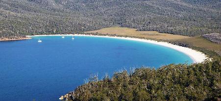 Wineglass Bay, Tasmanie, Australie
