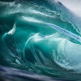 Quand les vagues d'Australie deviennent art