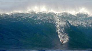 La plus grosse vague jamais surfée en Australie ?