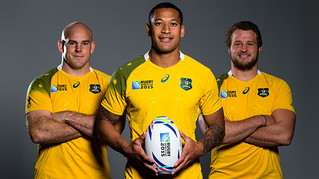 L'Australie est en finale de la coupe du monde de rugby !