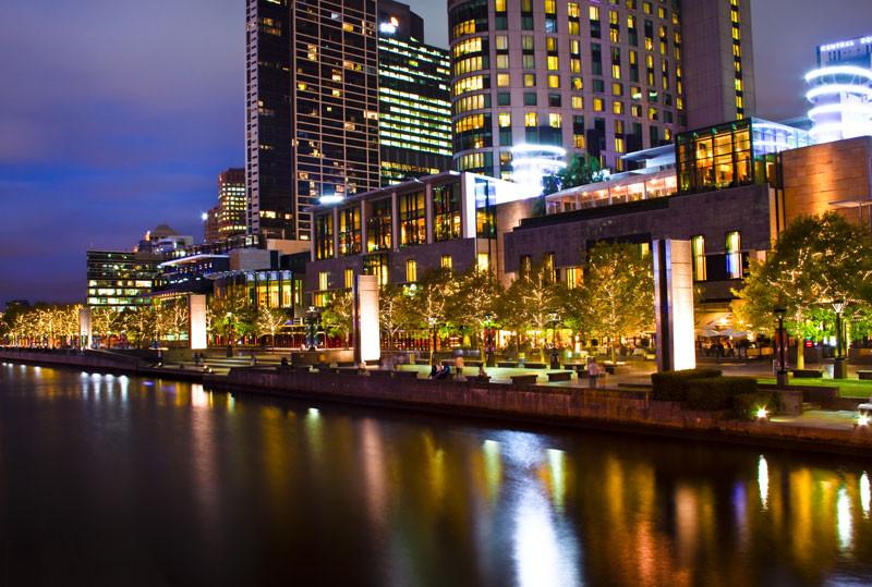 Le sompteux Hotel&Casino Crowne Melbourne