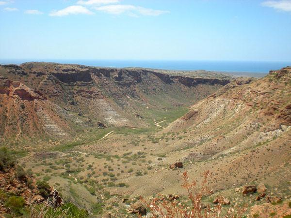 Vacances au Parc marin Ningaloo en Australie, visiter le Cap Range près d'Exmouth