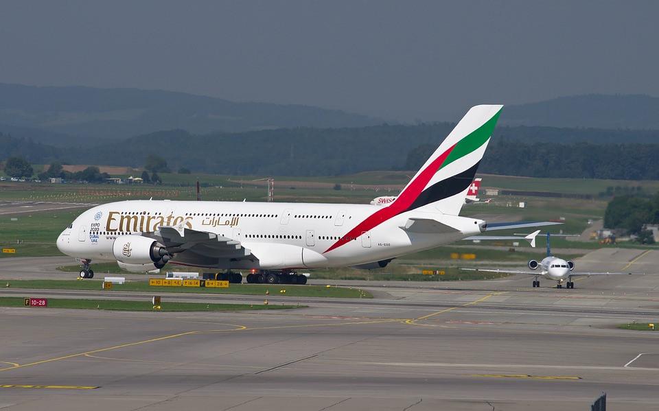 Avion Australie compagnie Emirates