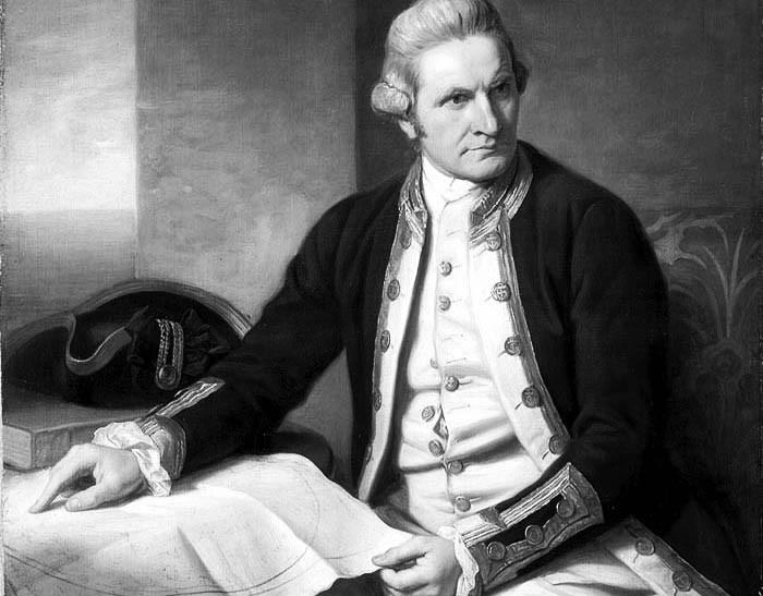 Histoire Australie : James Cook