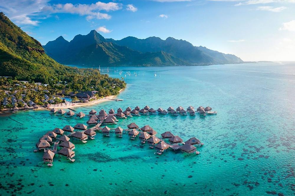 Partie en Polynésie depuis l'Australie