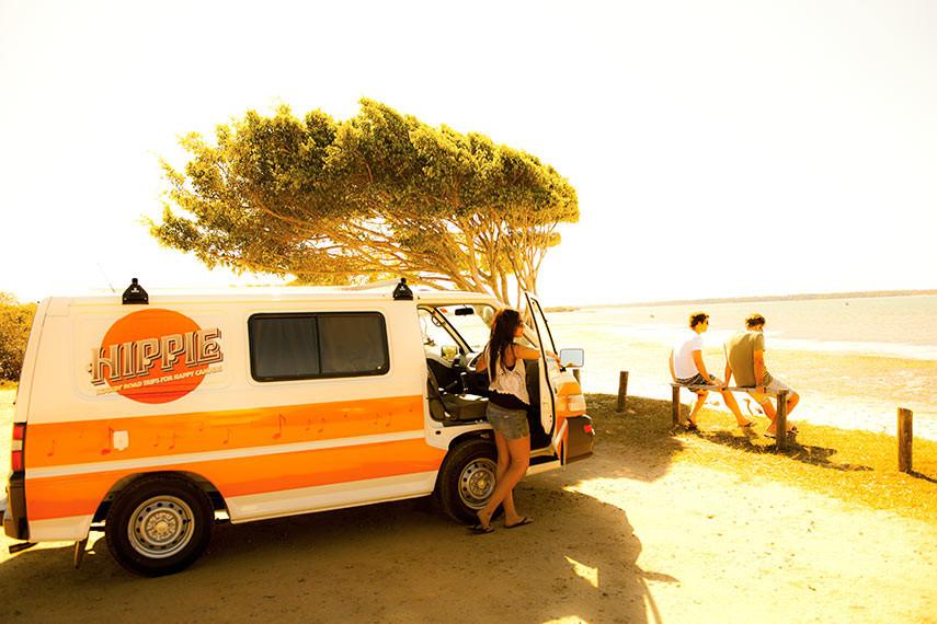 Location de van en Australie Hippie Camper
