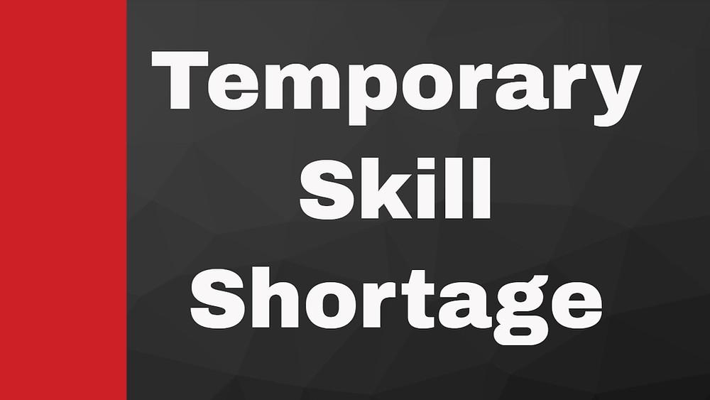 TSS-visa (A propos du Visa Temporary Skill Shortage)