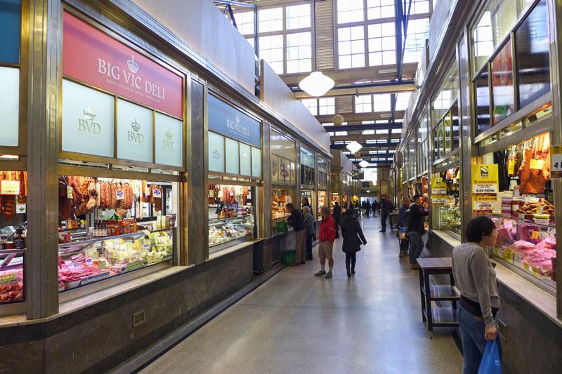 Le Queen Victoria Market est renommé pour ses produits de qualité