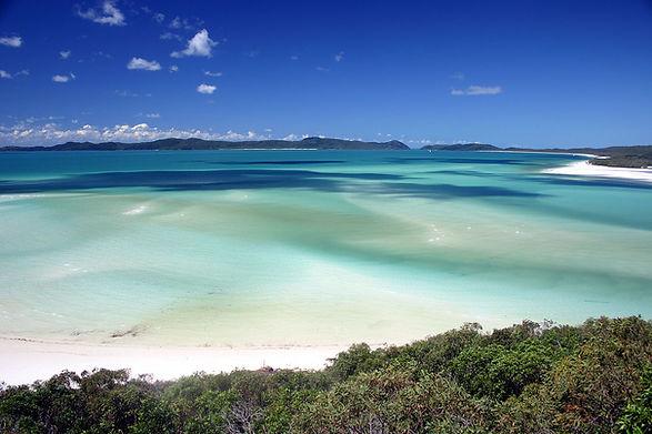 Whitehaven Beach, archipel Whitsunday Island, Queensland, Australie