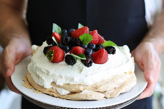 La pavlova est l'un des meilleurs desserts australiens