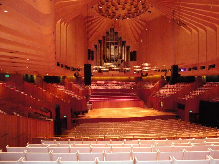Le Concert Hall (plus grande salle d'opéra)