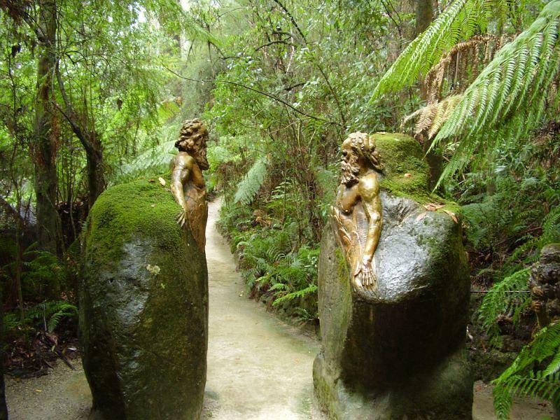 William Ricketts Sanctuary près de Melbourne