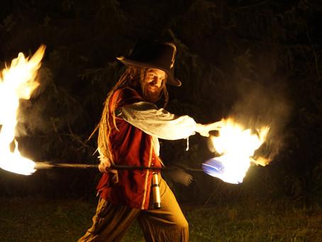 Neue Bilder von Piratenfeuershow