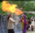Märchenfeuershow