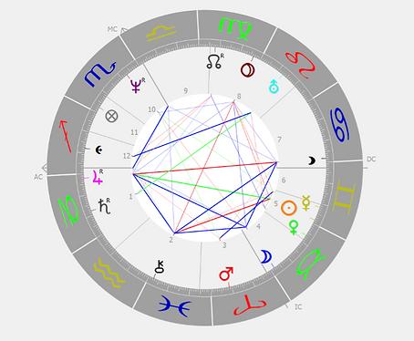 Radiz zodiac astrologie birth chart