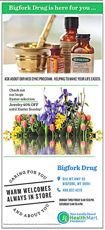 Bigfork Senior News...Sponsored by Bigfork Drug