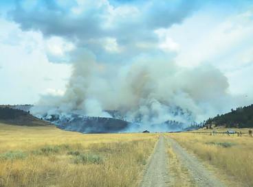 Fires force closures, create hazy skies