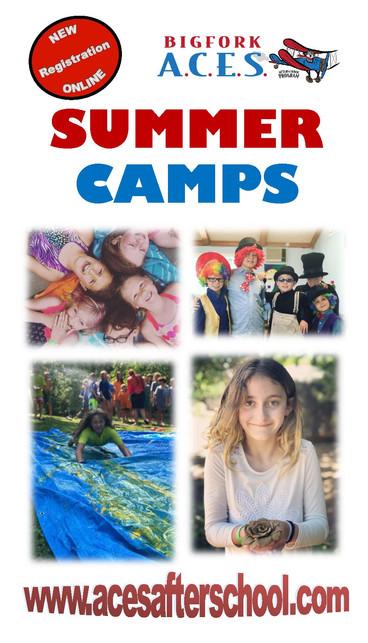 ACES taking summer camp registration