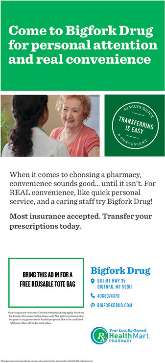 Senior News: Sponsored by Bigfork Drug