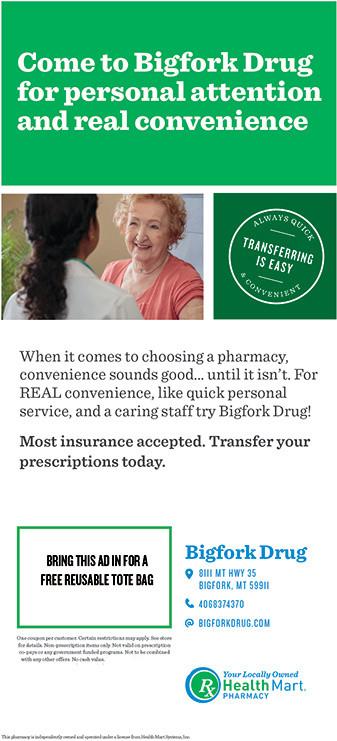 Senior News: Sponsored by Bigfork Drug