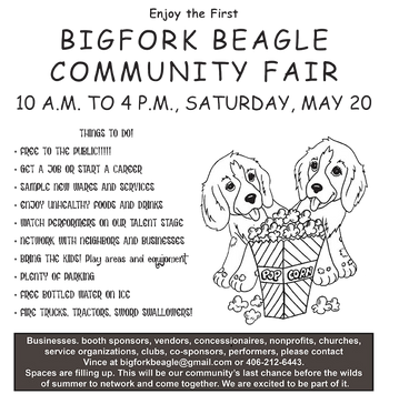PIE AUCTION AT THE SWAN RIVER COMMUNITY HALL May 5!