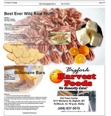 Fall harvest foods from Bigfork Harvest Foods!