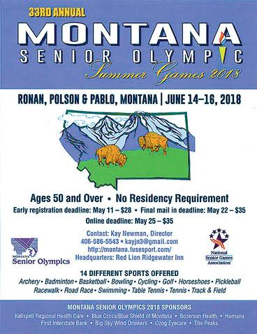 Polson hosts 2018 Montana Senior Olympics