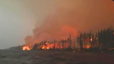 Howe Ridge Fire 'exploded'-   More Evacuations ordered